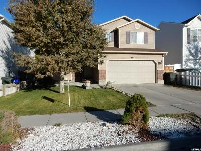 Tooele Single Family Home For Sale: 684 N 410 W