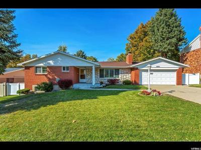 Holladay Single Family Home For Sale: 2801 E Wanda Way S