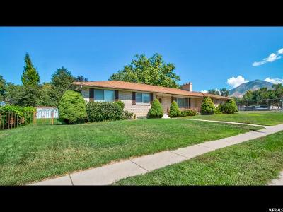 Salt Lake City Single Family Home For Sale: 2225 E 3780 S