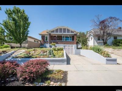 Salt Lake City Single Family Home For Sale: 1675 E 900 S