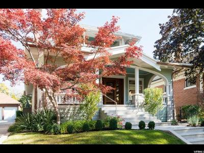 Salt Lake City Single Family Home For Sale: 245 S 1200 E