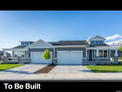 Orem Single Family Home For Sale: 834 W 1880 N #4