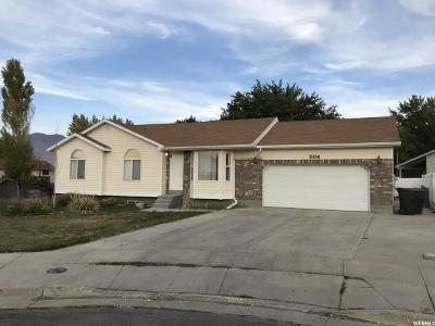 Tooele Single Family Home For Sale: 594 E Bristol Cv