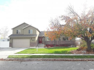 American Fork Single Family Home For Sale: 555 W 800 N