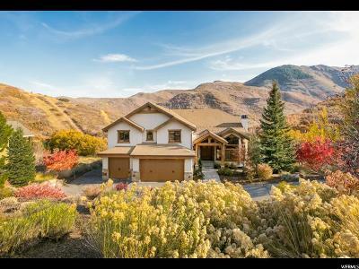 Salt Lake City Single Family Home For Sale: 5350 E Pioneer Fork Rd N