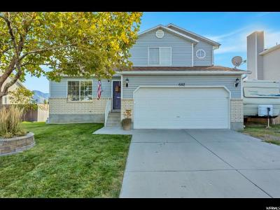 Tooele Single Family Home For Sale: 682 N 170 W