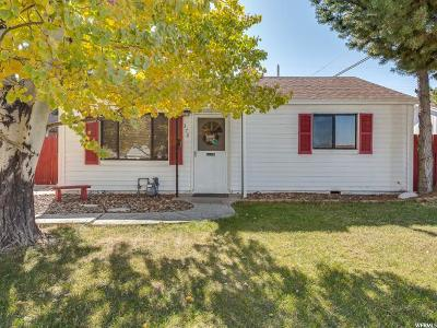 Tooele Single Family Home For Sale: 370 E Highland Dr