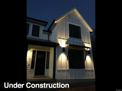 Salt Lake City Single Family Home For Sale: 2351 E 3000 S