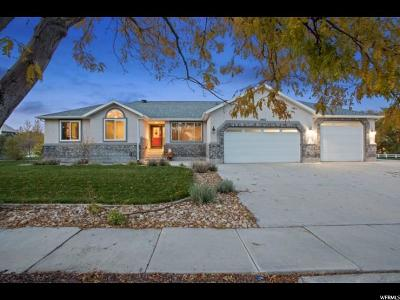 Riverton Single Family Home For Sale: 3002 W 13245 S