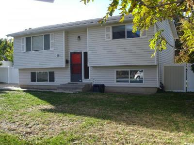 Pleasant Grove Single Family Home For Sale: 55 W 400 N