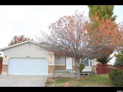 West Jordan Single Family Home For Sale: 5212 W 7000