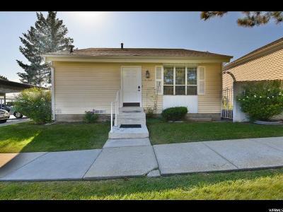 Salt Lake City Single Family Home For Sale: 4108 S Middlepark Ln W