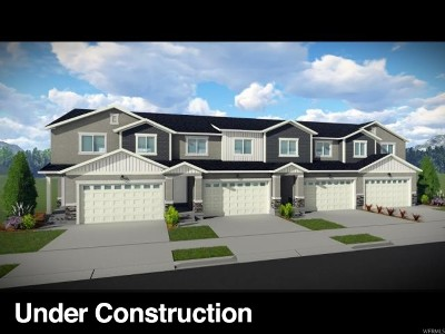 Herriman Townhouse For Sale: 4157 W River Shade Ln #355