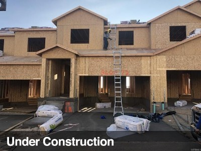 Herriman Townhouse For Sale: 4153 W River Shade Ln #354