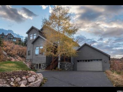Park City Single Family Home For Sale: 7515 Stagecoach Dr