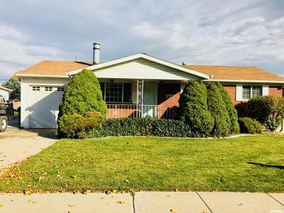 West Valley City Single Family Home For Sale: 5640 W 3575 S