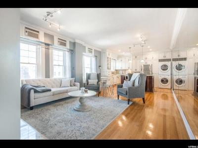 Salt Lake City Condo For Sale: 29 S State St #805