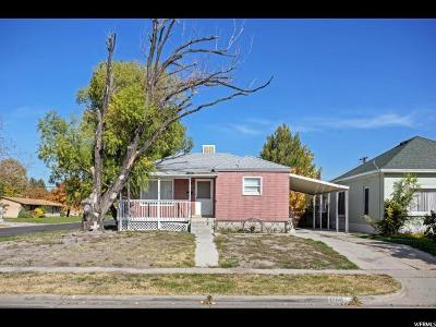 Salt Lake City UT Single Family Home For Sale: $220,000