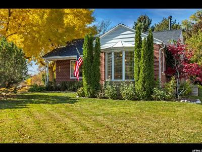Salt Lake City UT Single Family Home For Sale: $525,000