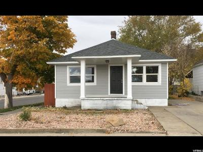 Tooele Single Family Home For Sale: 98 N 4th St