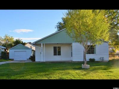 Tooele Single Family Home For Sale: 249 W Griffith