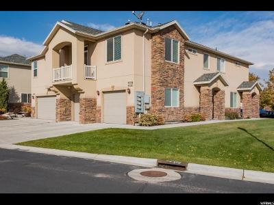 West Jordan Townhouse For Sale: 4656 W Greensand Dr