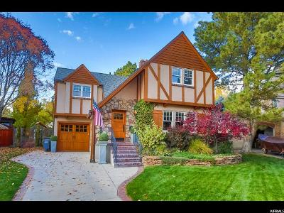 Salt Lake City UT Single Family Home For Sale: $900,000
