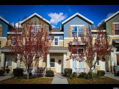 Herriman Townhouse For Sale: 5062 W Fortrose Dr S