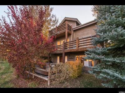 Park City Single Family Home For Sale: 5480 Cross Country Way
