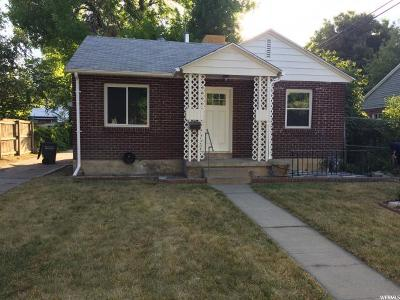 Salt Lake City UT Single Family Home For Sale: $234,995