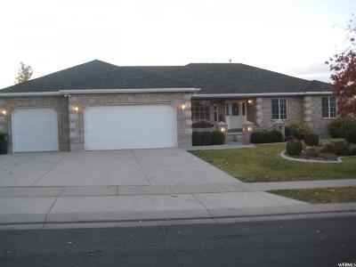 West Jordan Single Family Home For Sale: 4698 W Aire Dr