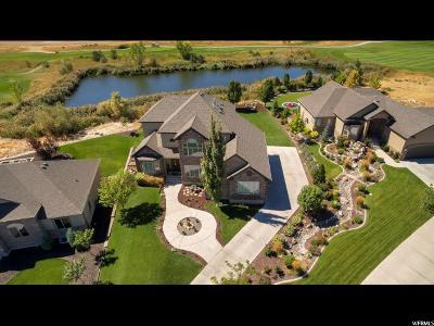 Saratoga Springs Single Family Home For Sale: 83 E Eight Iron Ct