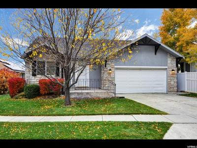 West Jordan Single Family Home For Sale: 3757 W Village Ford Rd.