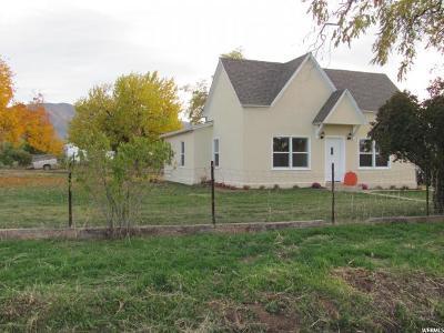 Single Family Home For Sale: 190 E 100 S