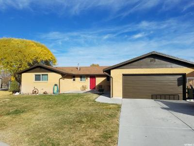 Tremonton Single Family Home For Sale: 533 E Wendy Way S