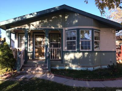 Ferron UT Single Family Home For Sale: $115,000