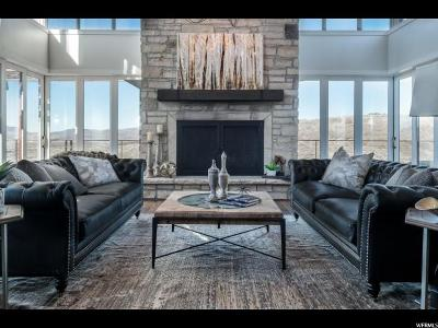 Park City Single Family Home For Sale: 8293 N Ranch Garden Rd #84