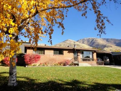 Brigham City Single Family Home For Sale: 961 Hillview Rd
