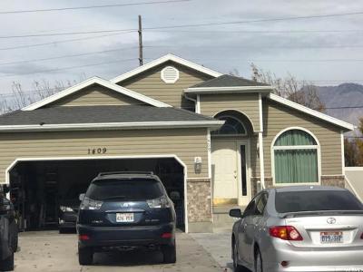 Spanish Fork Single Family Home For Sale: 1409 E 820 S