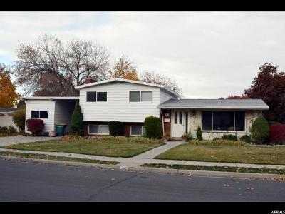 Orem Single Family Home For Sale: 312 S 700 E