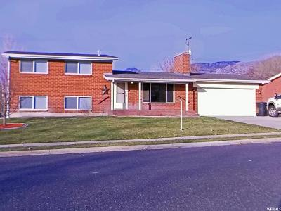 Brigham City Single Family Home For Sale: 192 S Fishburn W