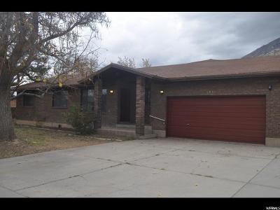 Springville Single Family Home For Sale: 1539 E 450 S