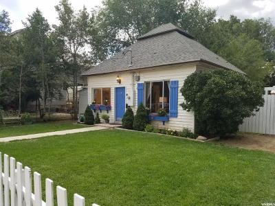 Wasatch County Single Family Home For Sale: 275 S 300 W