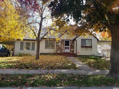 Springville Single Family Home For Sale: 244 E 100 N