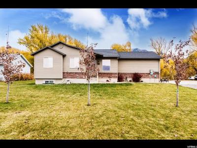 Nibley Single Family Home For Sale: 2724 S Highway 165