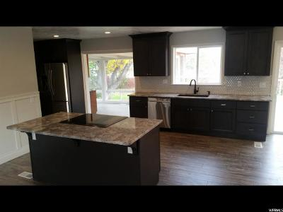 West Valley City Single Family Home For Sale: 3250 W 4100 S