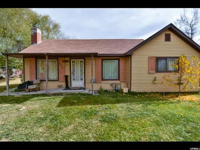 West Valley City Single Family Home For Sale: 4537 S 3200 W