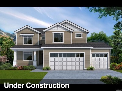 Saratoga Springs Single Family Home For Sale: 618 S Church Dr E #339