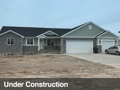 Tremonton Single Family Home For Sale: 1164 E 180 S #15