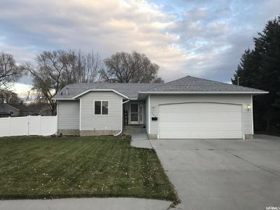 Preston Single Family Home For Sale: 229 S 400 W